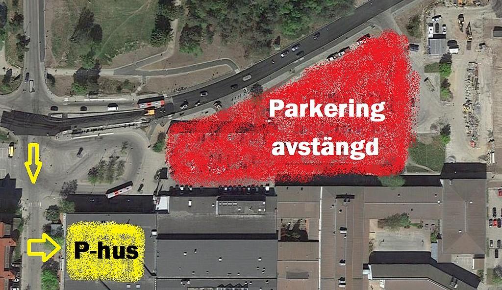 haninge centrum parkering